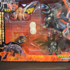 GMK Godzilla 2002 vs Mothra King Ghidora Baragon Play Set