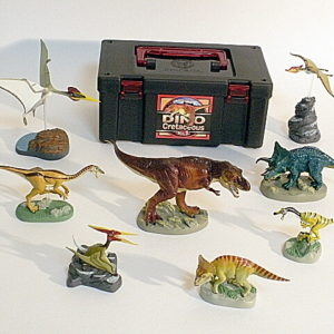 Colorata 8 Piece Dinosaur Set Volume 1 Cretaceous