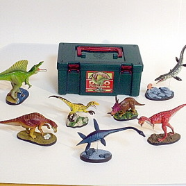 Colorata 7 Piece Dinosaur Set Volume 2 Cretaceous