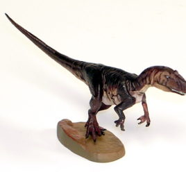 Dinotales Series 6 Allosaurus B Dark Brown Hard to Find