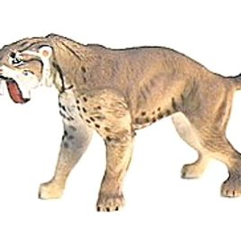 Dinotales Series 2 #038 Smilodon (Sabertooth Tiger)