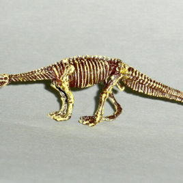 Dawn of the Dinosaurs Exhibit Exclusive Lessemsaurus Skeleton