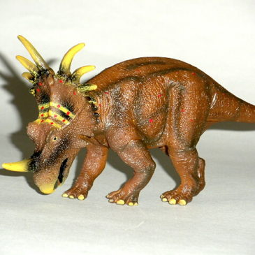 Styracosaurus Figure by Favorite Co. of Japan New