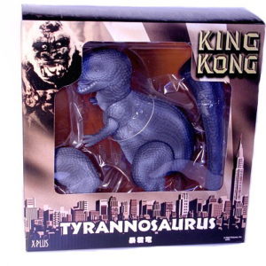 1933 Kong T Rex Figure 2005 X PLUS JAPAN Mint in Box