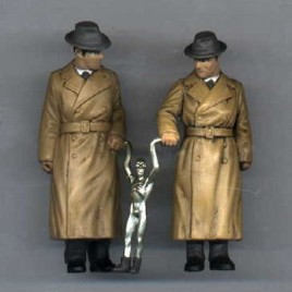 Medicom Mystery #2 Roswell Alien & Men in Black Figure