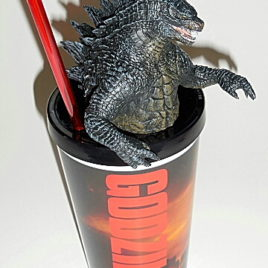 Godzilla 2014 Theater Exclusive Drinking Cup with Zilla Lid