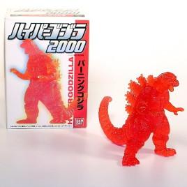 Hyper Burning Godzilla Figure from Bandai 1999 in Box