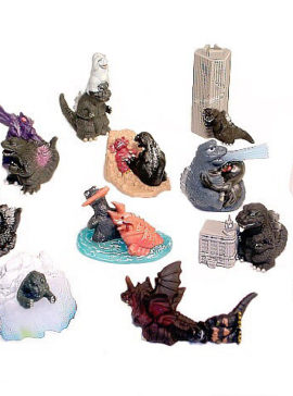 Godzilla Super Deformed Figures