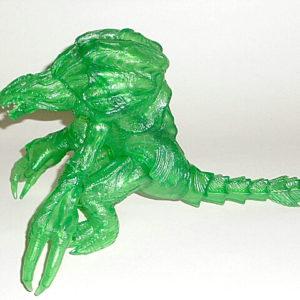 Green Orga Limited Edition Action Figure 2000 Bandai Rare