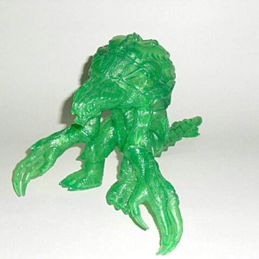 Green Orga Action Figure Limited Edition 2000 Bandai Rare
