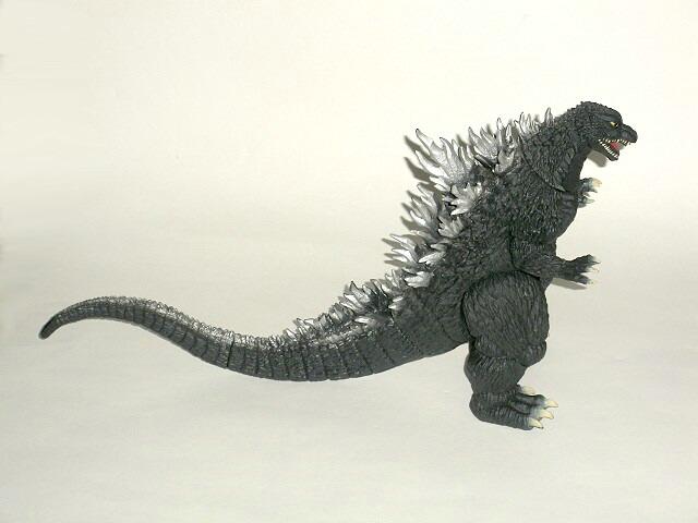 Godzilla 2002 Action Figure 2003 By Bandai Rare No Tag