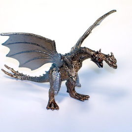 Godzilla High Grade Set 5 Cretaceous King Ghidorah Figure