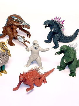 Godzilla High Grade Figures