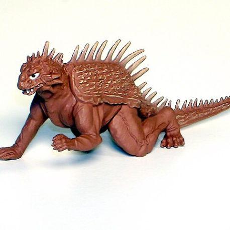 Godzilla High Grade Set 6 Varan Figure Rare
