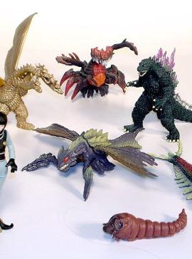 Godzilla Mini Toys