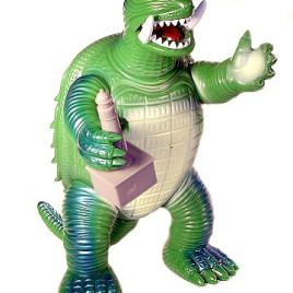 Giant Modern Toys Gamera Figure 1965 Classic Style with Lighthouse