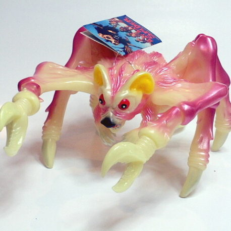 Bat Rat Spider Figure M1 Glow in the Dark from The Angry Red Planet Mint