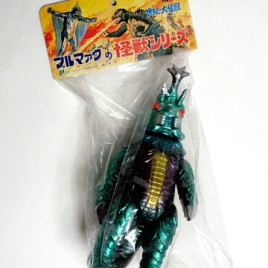Megalon Figure 2006 M1 Bullmark Reissue Figure Mint in Bag with Header