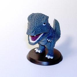 Tokusatsu Heroes Super Deformed Gorosaurus
