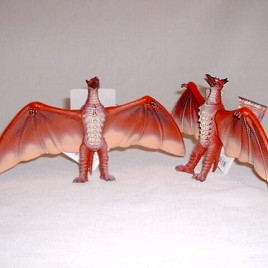 Movie Monster Series Fire Rodan Figure Mint with Tag