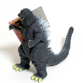 Movie Monster Series Godzilla 1989 Heisei Action Figure 2005 Pink Bandai Tag