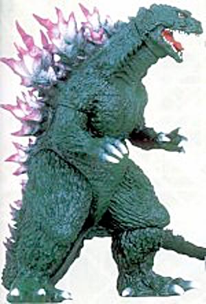 Banpresto Godzilla Action Figure 2000 Figure By Sakai