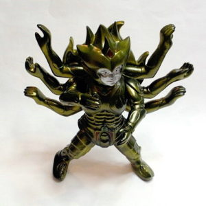 Takemajin Guilala Action Figure G-8 Summit Rare Gold 2008