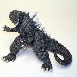 Ultimate Godzilla Collection Godzilla Hyper Figure Fins 2005