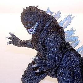 Ultimate Collection Godzilla 2005 Translucent Fins Bandai
