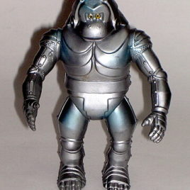 Yamakatsu Mechani Kong Figure 1983 Mint Condition with sticker Rare
