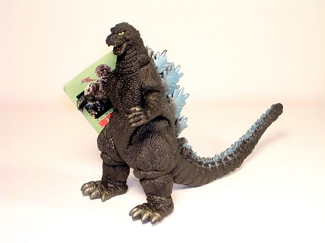 Toho Kaiju Heisei Godzilla Figure 1989-1995 Style Green ...