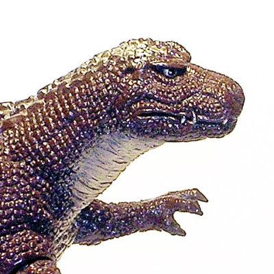 Godzillasaurus 1993 Figure By Bandai Near Mint No Tag