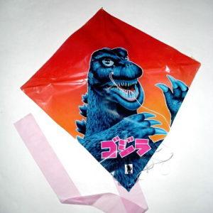 GODZILLA PLASTIC KITE 1984 RARE!