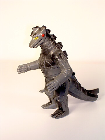 Yamakatsu MechaGodzilla 1974 Figure Near Mint with Sticker