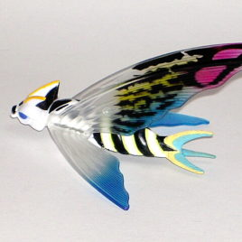 Aqua Mothra Flying Figure from Box Set Bandai