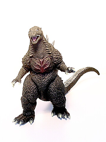 Banpresto Godzilla 2003-2004 Figure in Box