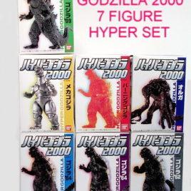 Godzilla 2000 Hyper Figure Set
