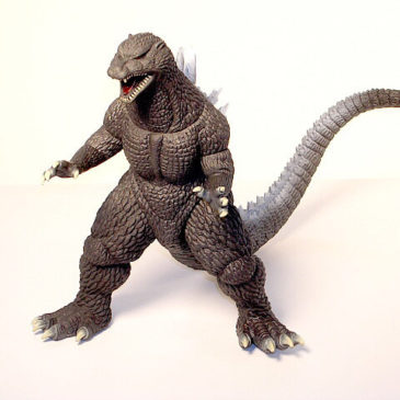 Banpresto Godzilla 2005 Final Wars Action Figure in Box