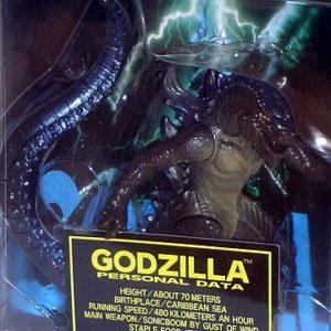 Godzilla Hyper Figure Real Heroes Series USA TriStar 1998 ...