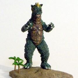 Iwakura Gabera Diorama from Godzilla's Revenge