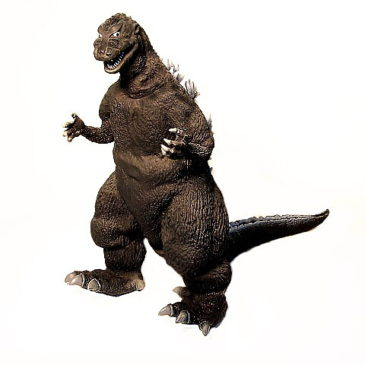 Godzilla 1954 Figure Black and White Banpresto