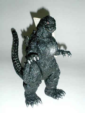 Godzilla Figure Closed Mouth 1991 Bandai Rare Near Mint