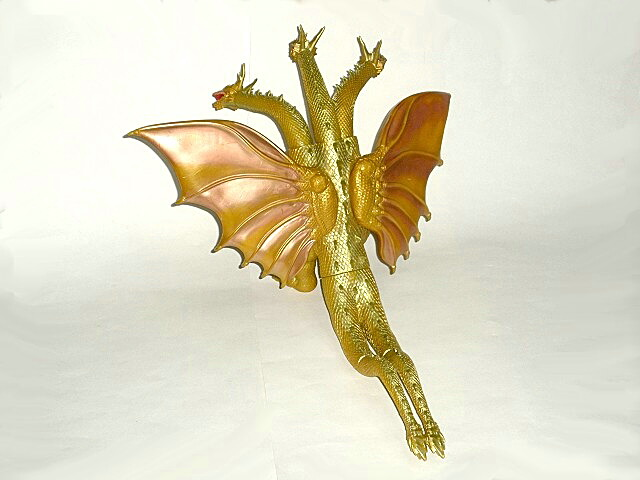 Grand King Ghidorah 1998 Ghidora Mothra 3 Bandai Excellent