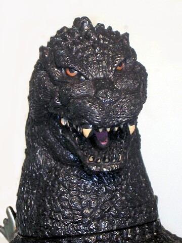 Jumbo Godzilla Figure 1991 Bandai Near Mint No Box