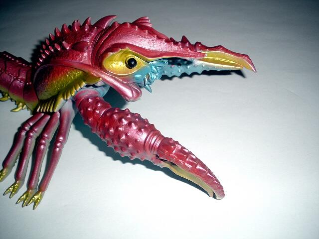 final wars ebirah figure 2005 marmit monster from the deep