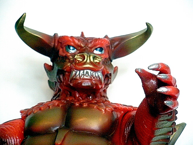 Pulgasari Figure 1998 Red Limited Edition Rare Mint In Box