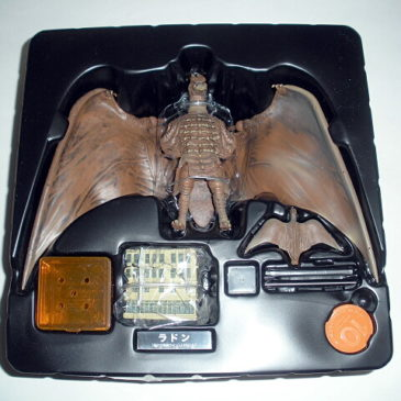 Rodan 1956 Figure Revoltech Kaiyodo with Mini Flying Rodan Mint in Box