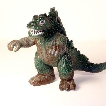 Popy Godzilla Figure 1978 Attack  Vintage Near Mint