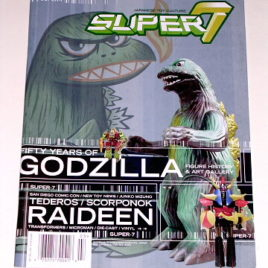 Super 7 Magazine vol 2 Issue  3 Godzilla