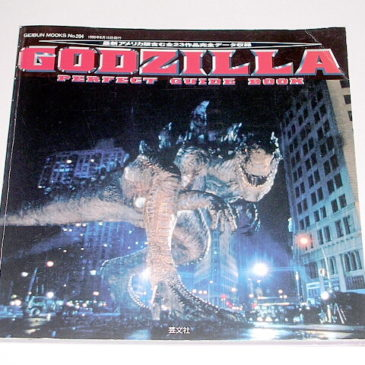 Godzilla Perfect Guide Book 1954 1998 Great photos